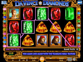 Da Vinci Diamonds: Dual Play 2
