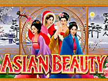 Запускайте игровой автомат Asian Beauty онлайн