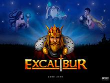 Экскалибур – игровой аппарат с красивой графикой и джекпотом