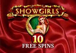 10 бесплатных спинов в Show Girls
